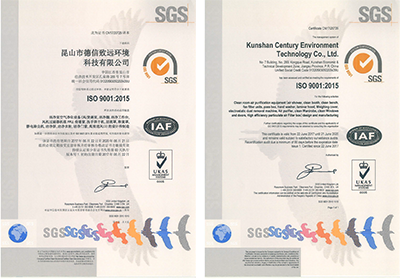 ISO 9001:2015/SGS