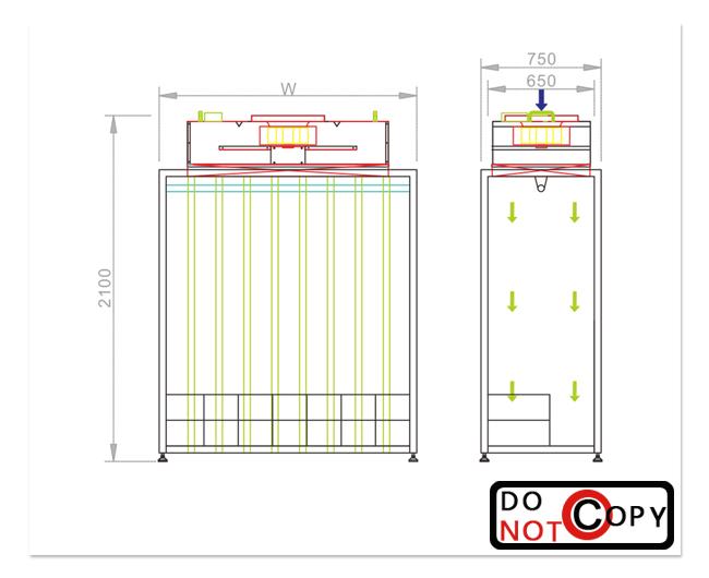 2米衣柜内部设计图纸